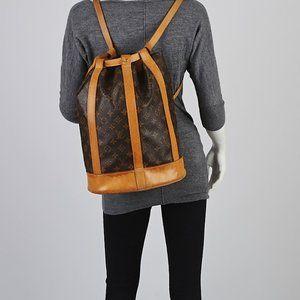 Authentic Louis Vuitton randonnee pm monogram